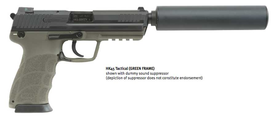HK45 Tactical Suppressor