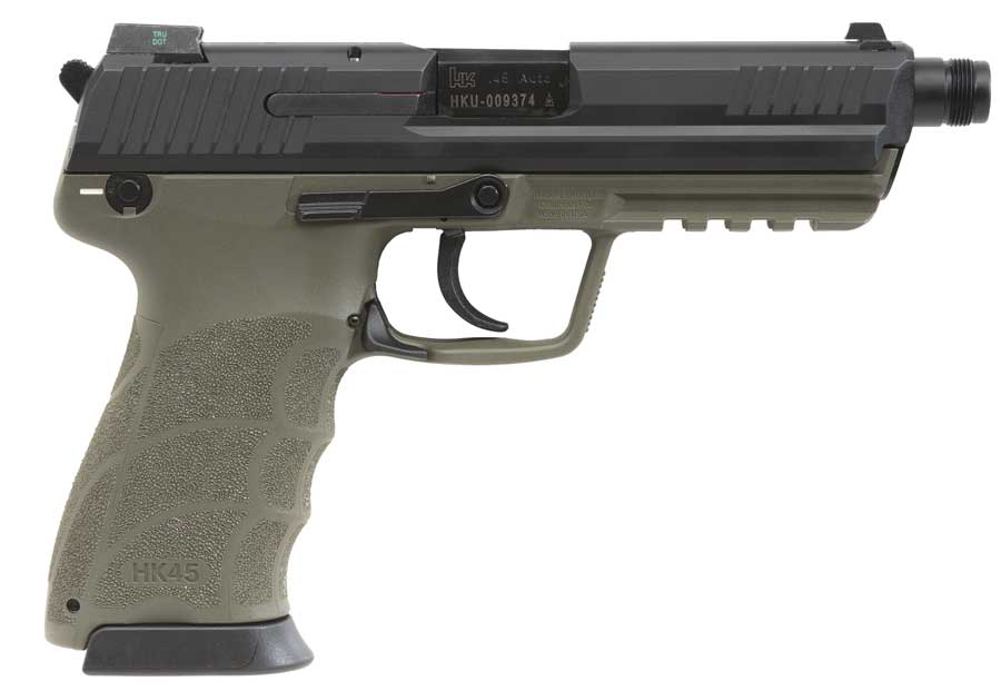 HK45 Tactical green
