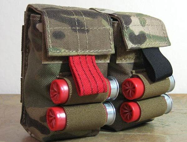 Head Down Shotgun Pouch