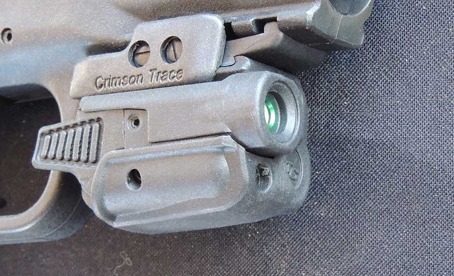 Review of the Crimson Trace CM203 green laser