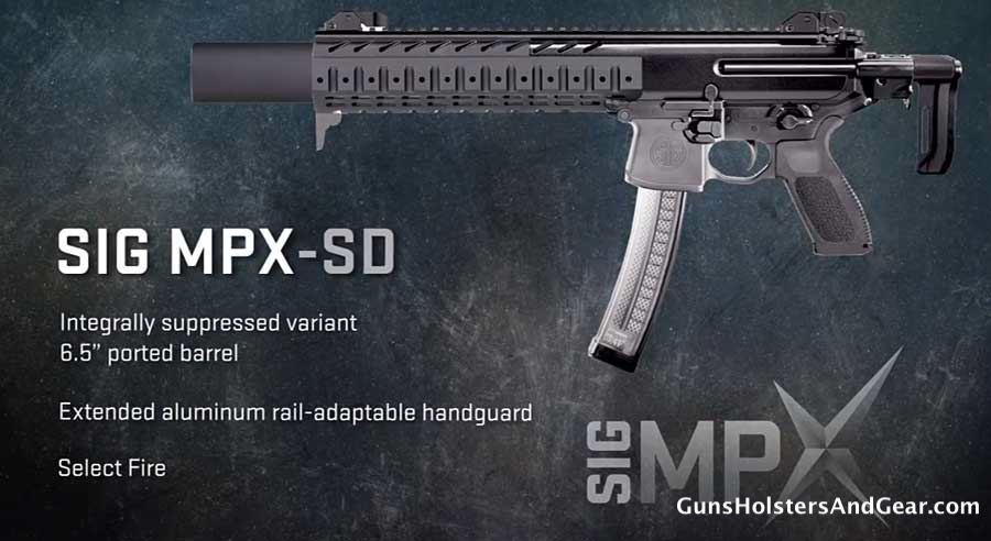 SIG MPX-SD