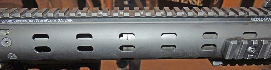 Daniel Defense ISR rail
