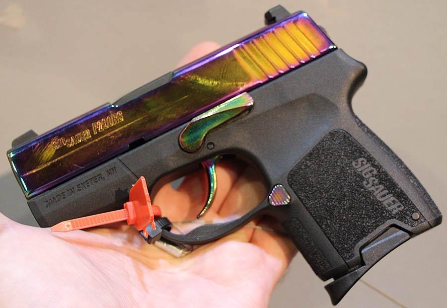 SIG P290 Rainbow | New Gun at 2013 SHOT Show