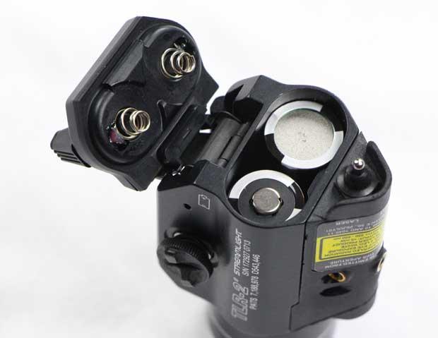 CR123A batteries