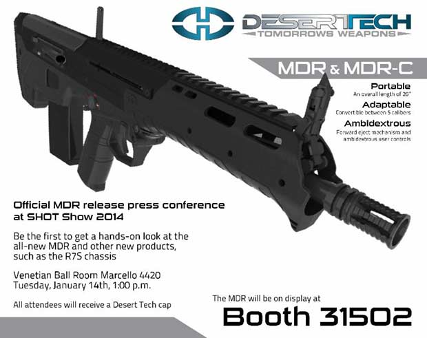 Desert Tech MDR rifle