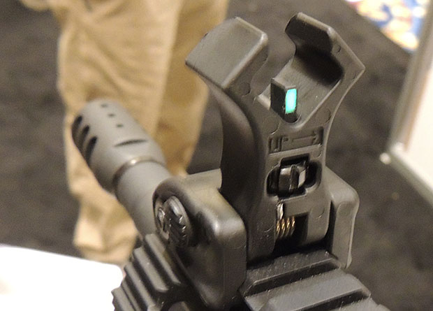 Diamondhead polymer sight