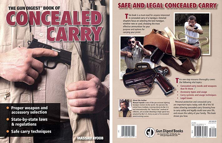 Concealed Carry book Massad Ayoob