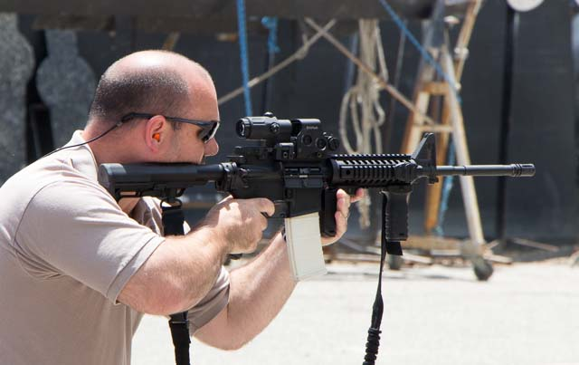MFT rifle in action