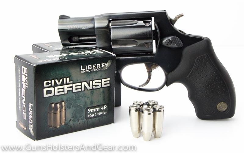 Civil Defense 9mm ammo in revolver