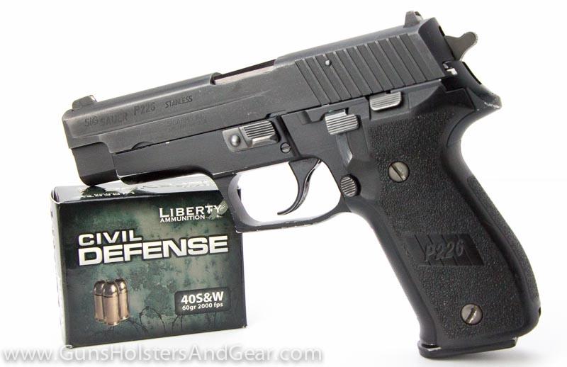 Civil Defense Ammunition Review P226