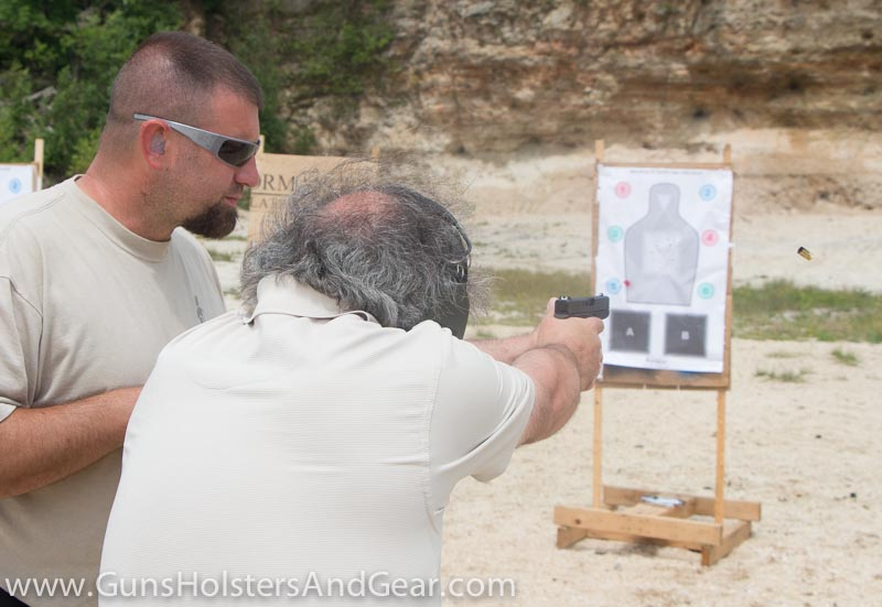 shooting the Glock 42