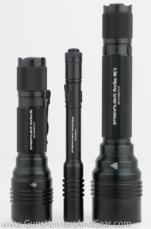 Streamlight sizes