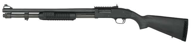 Left Handed Mossberg 590 Shotgun