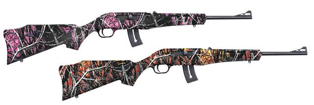 Mossberg Blaze Rifle with Moonshine Camo