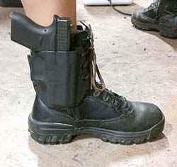 cook's boot holster