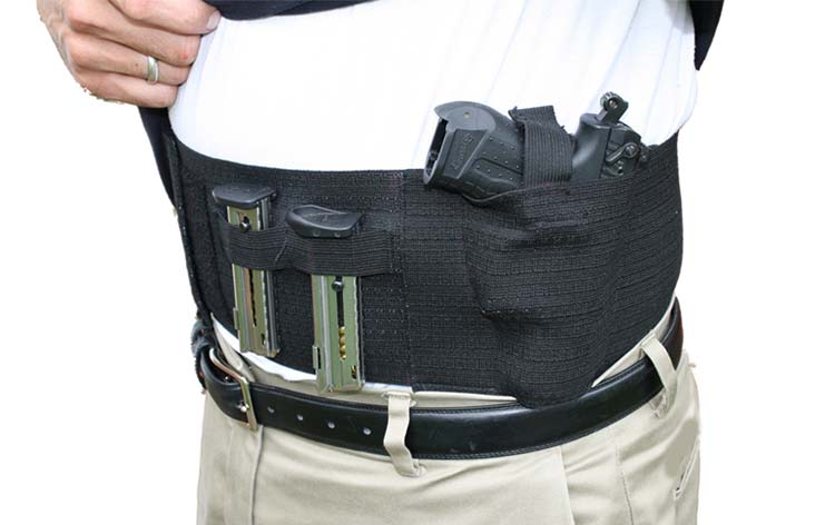 Belly Band Handgun Holster