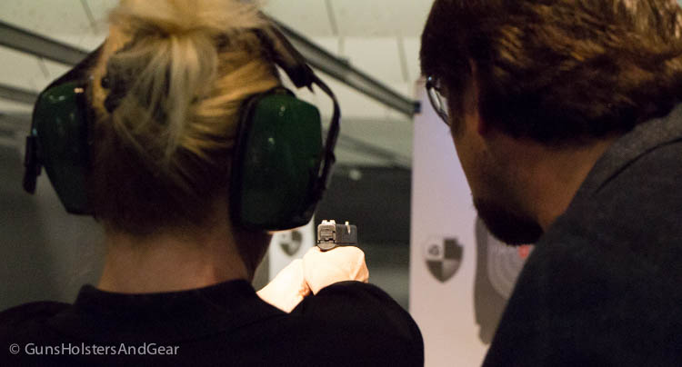 first shots with the Glock 43