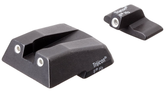 Bright and Tough Trijicon sights for HK