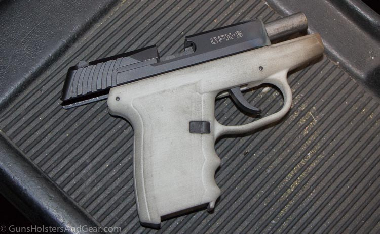 new SCCY CPX-3 380 ACP pistol