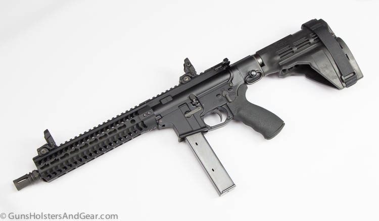 Black Creek Precision AR pistol 9mm
