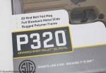 SIG P320 Air Pistol box