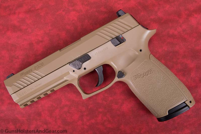 left side of SIG P320 airgun