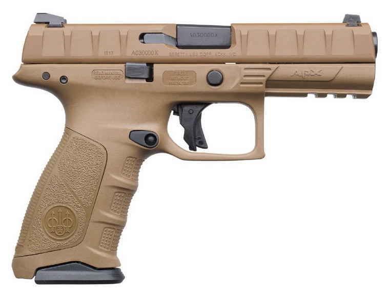 Beretta APX FDE New Gun 2018