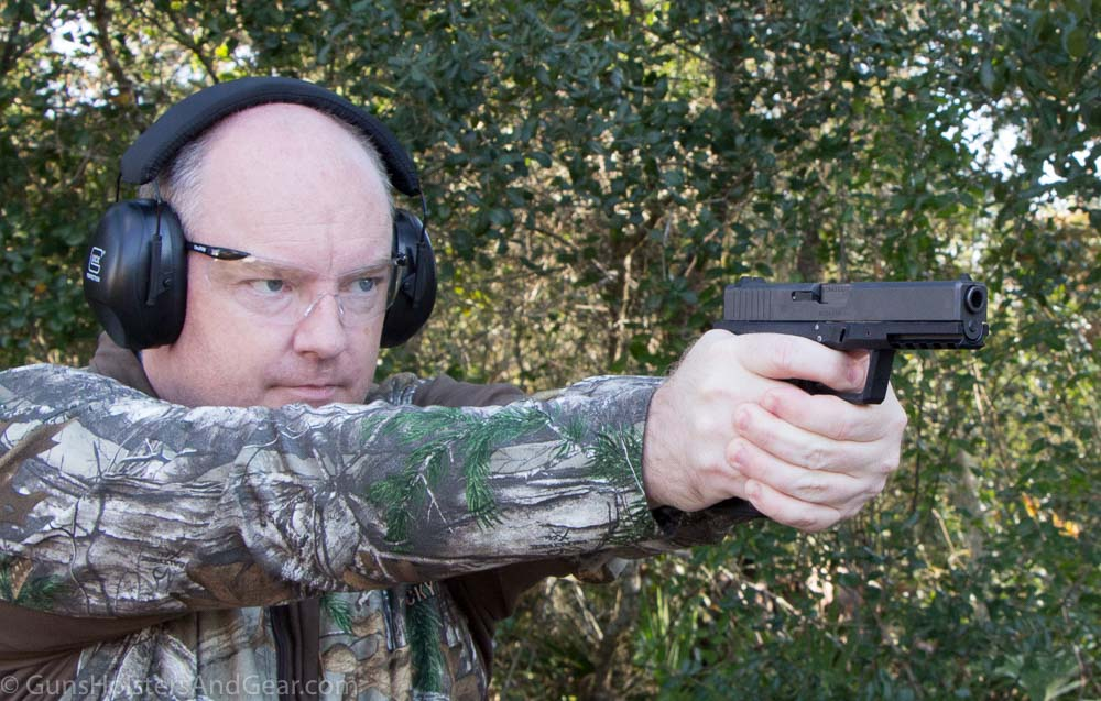 Shooting an 80% Glock pistol