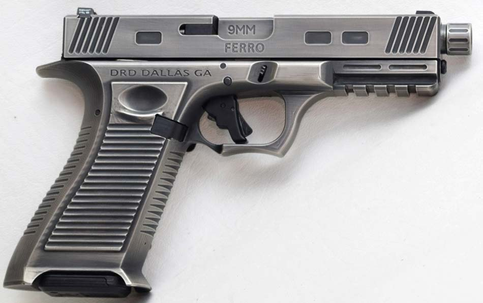 FERRO 9mm Pistol from DRD Tactical: Steel Frame Glock