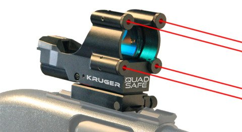 Quad laser sight
