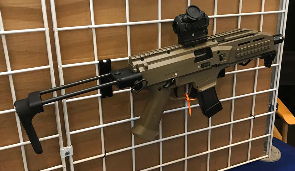 Safety Harbor Firearms KES for CZ Scorpion EVO