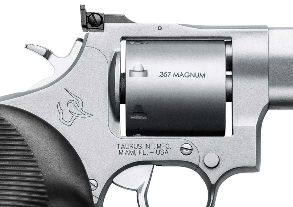 Taurus 692 Multi-Caliber Revolver:  38,  357 and 9mm