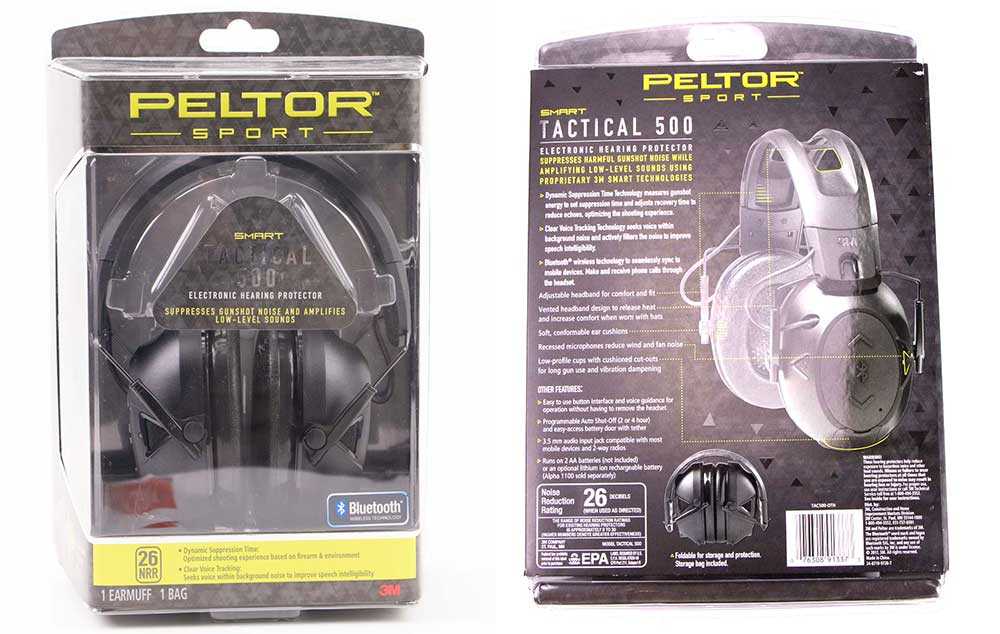 Peltor Hearing Protection Testing