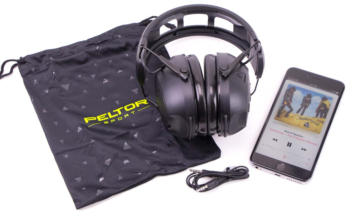 Peltor Hearing Protection Testing music