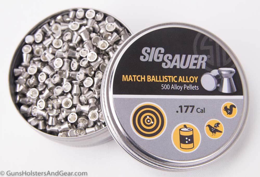 SIG Airgun .177 caliber lead pellets