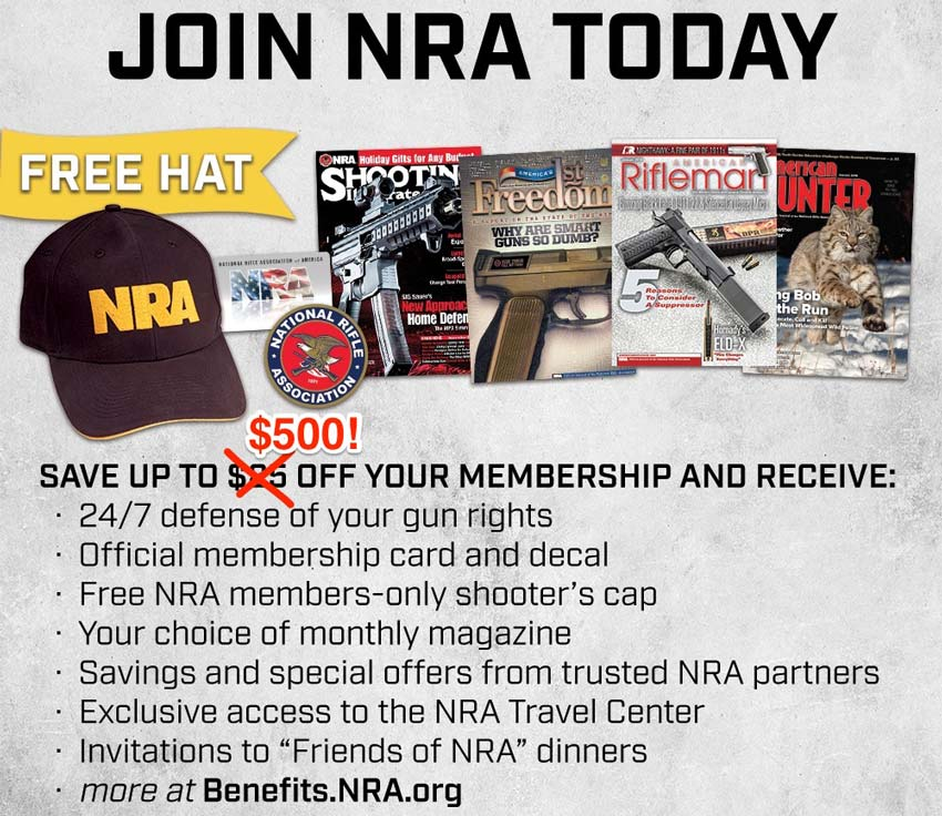 Best NRA Membership Discount and Benefits