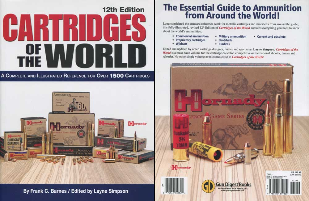 Cartridges of the World Review 12th edition