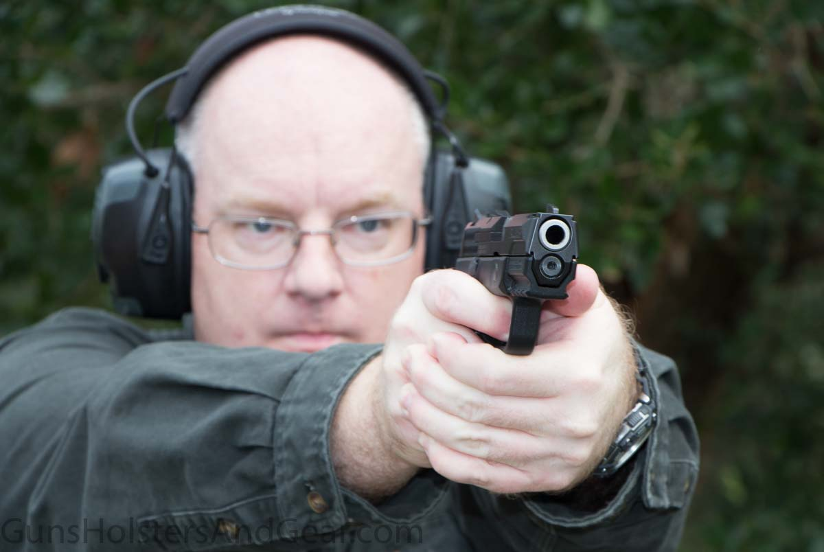 Shooting the Ruger American Pistol Compact