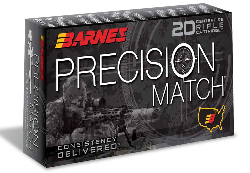 Barnes Precision Match 6mm Creedmmor ammo