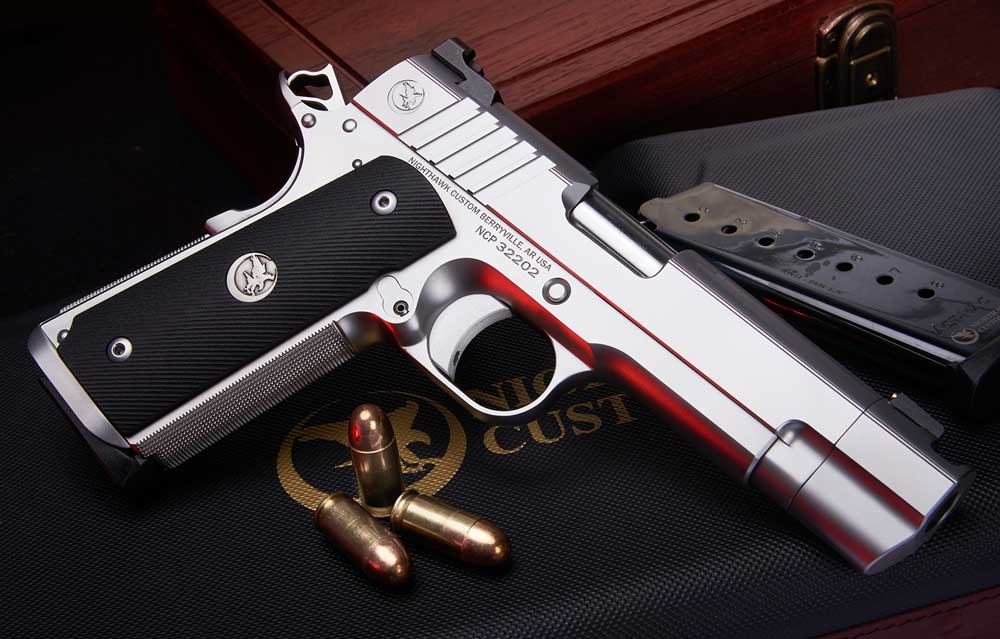 Nighthawk Custom Firehawk Compensated 1911