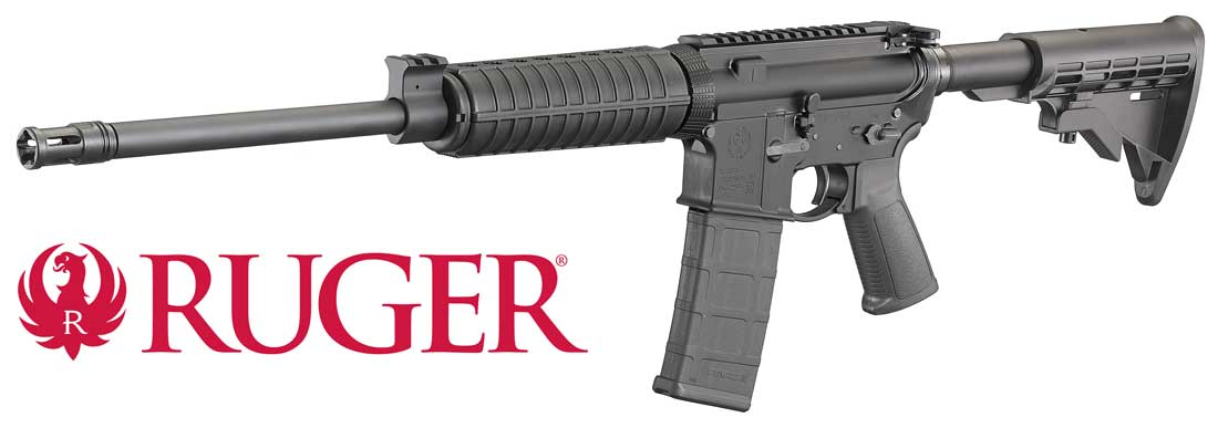 Ruger AR556 Optics Carbine