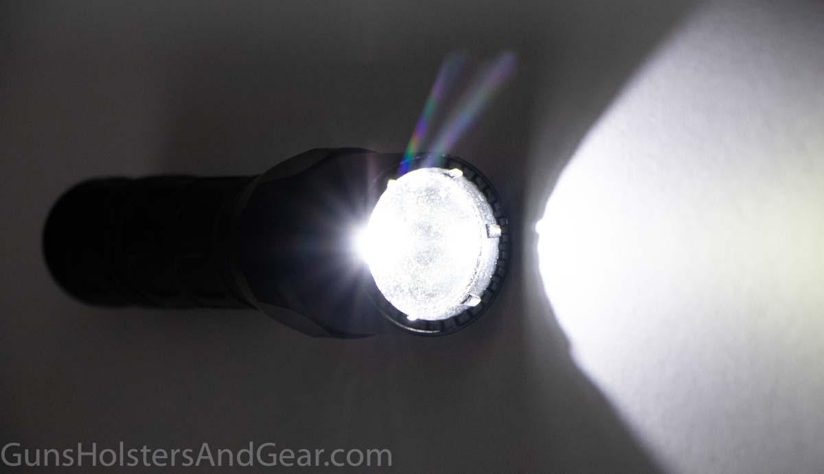 Output of SureFire G2X Tactical Flashlight