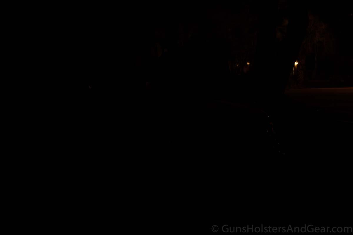 Streamlight ProTac HL Flashlight Demonstration with Car 7 yards before