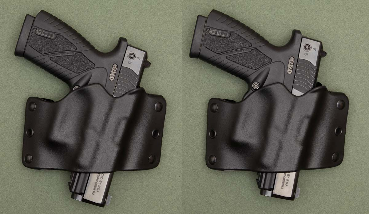 Bersa BP9CC in Stealth Operator Holster