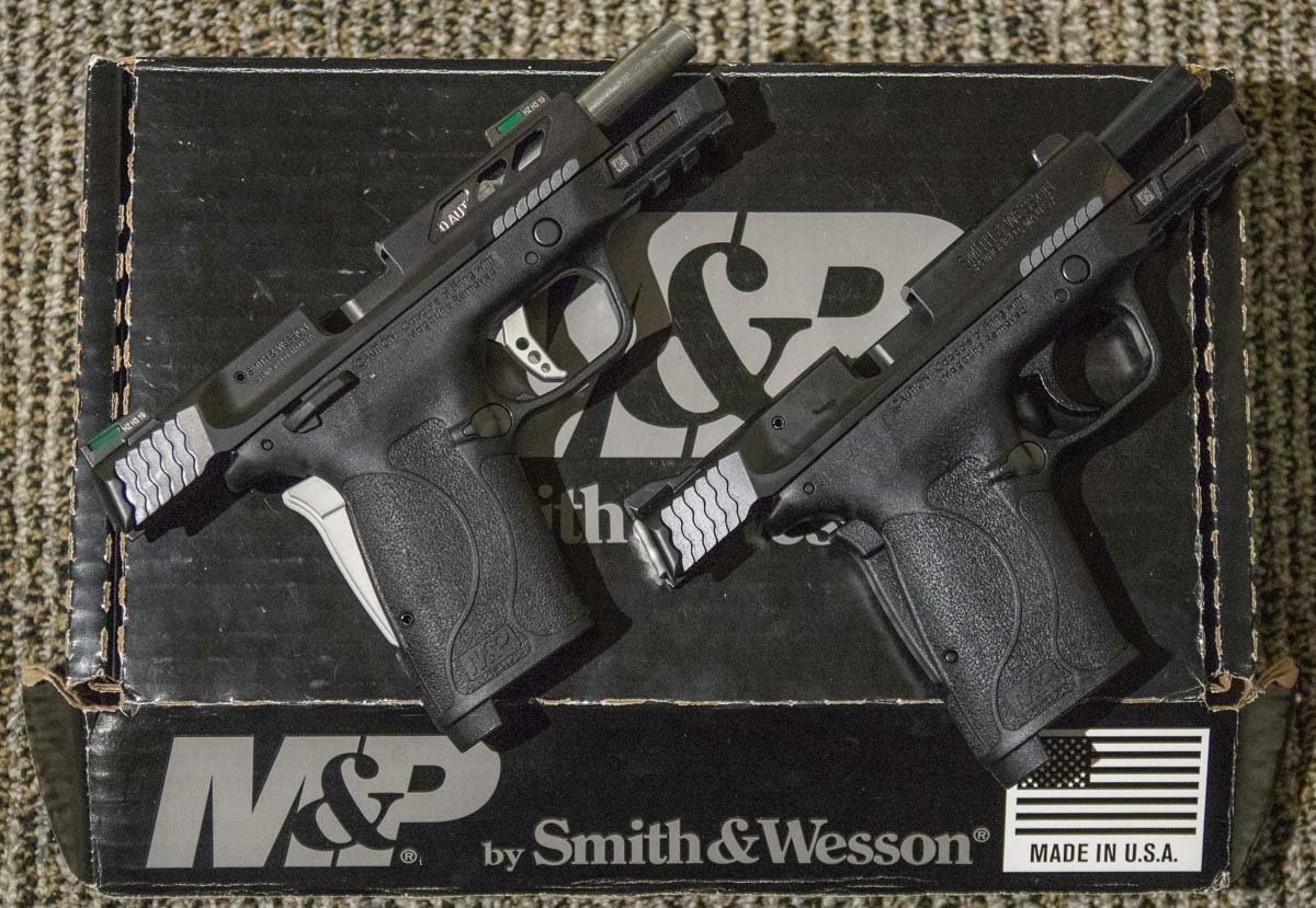 Comparing the Performance Center MP380 EZ Pistol 380 ACP