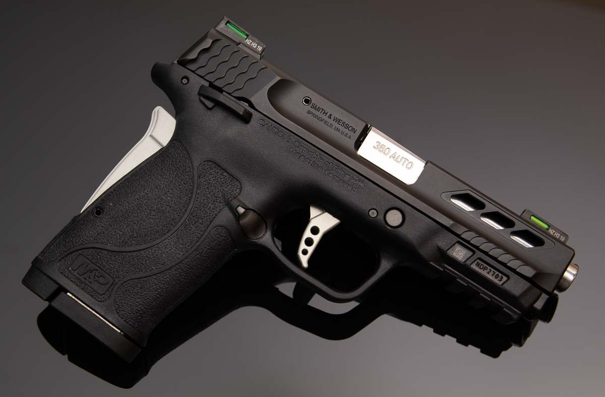 S&W Performance Center M&P380 EZ Shield Review 380 ACP Pistol