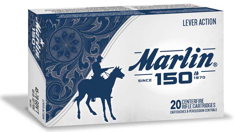 Marlin 150th Anniversary Ammo