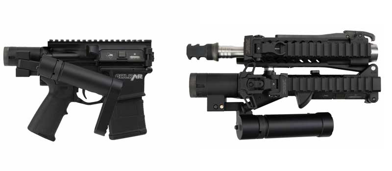 FoldAR Third Generation AR15 Folding