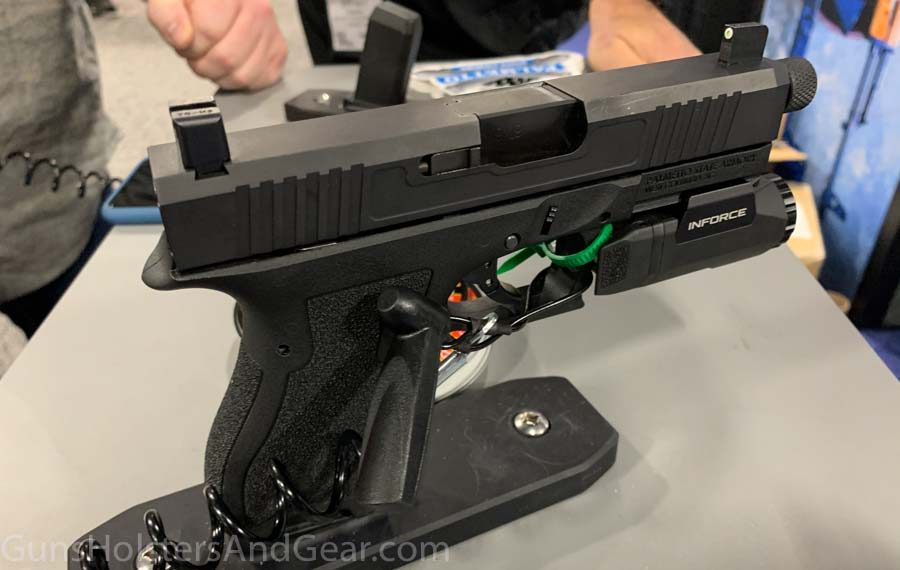 PS9 with threaded barrel and RMR cut price