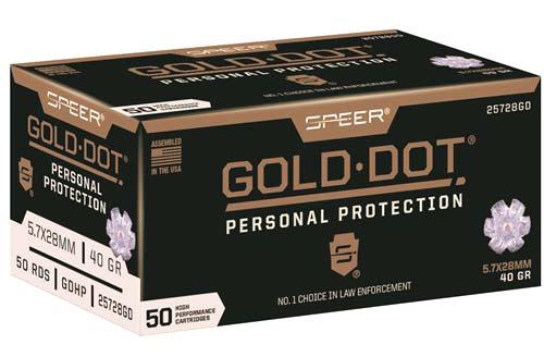 Speer Gold Dot 57x28 Ammo